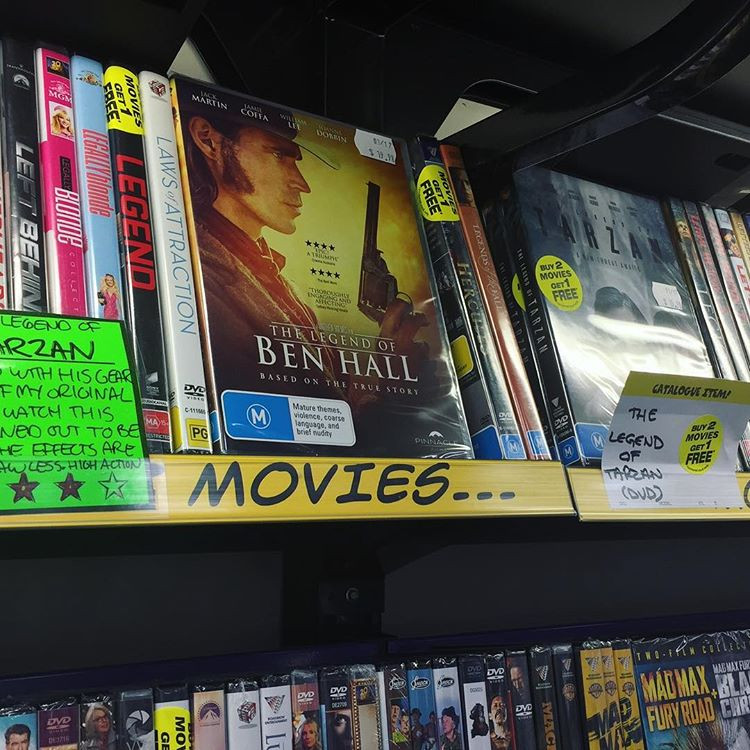 JB Hi Fi DVD BluRay The Legend Of Ben Hall
