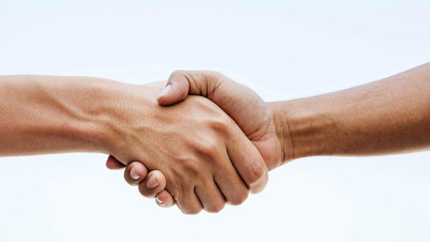 Hand Shake Peace Life Lesson
