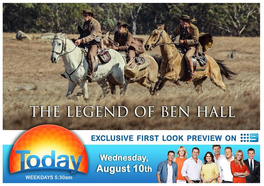 The Legend Of Ben Hall Exclusive Today Show