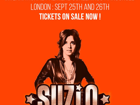 SUZI Q - LONDON International Premiere announced - Tickets Available!