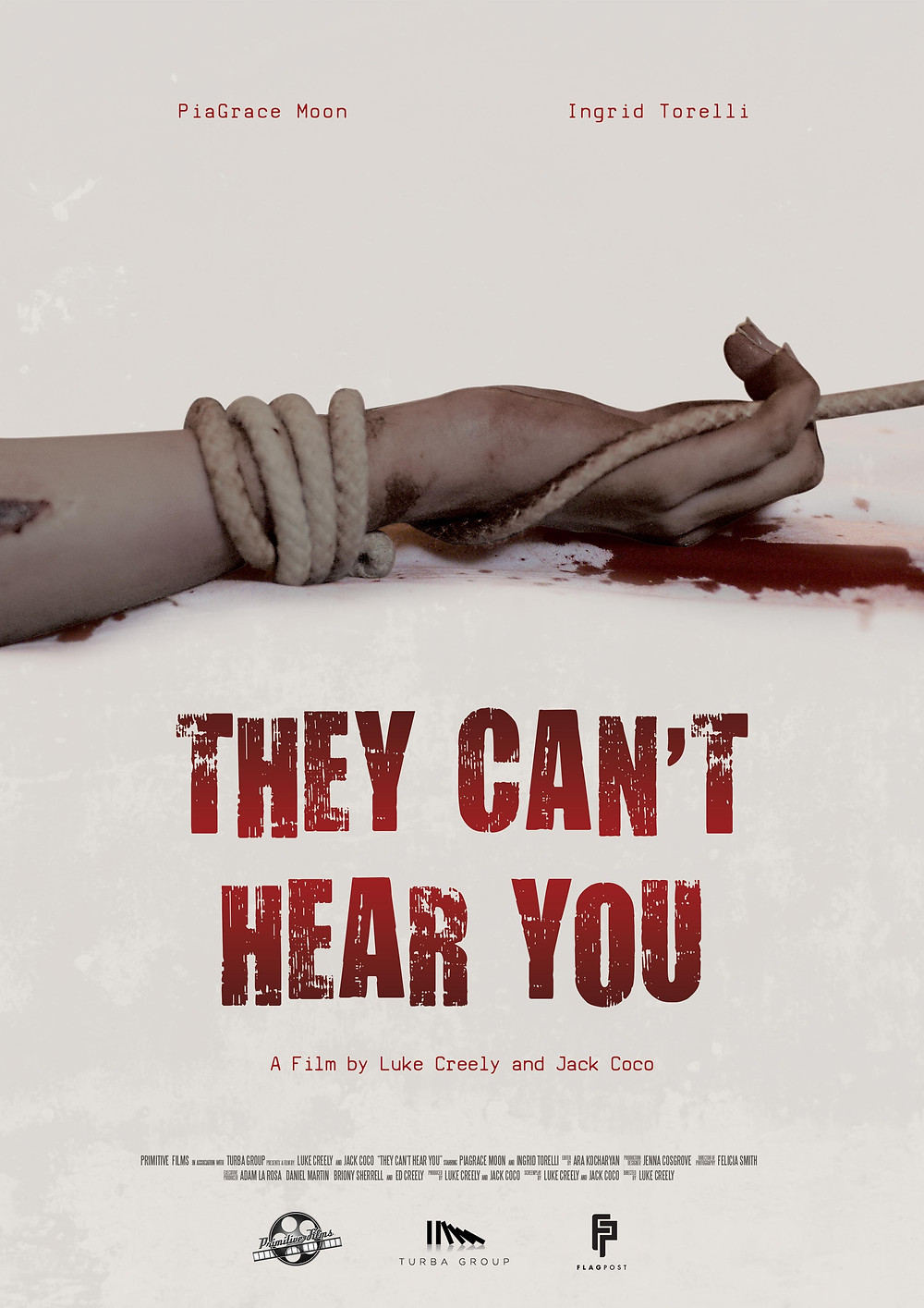 THEY CAN'T HEAR YOU Official Film Poster