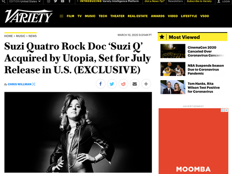 SUZI Q Acquired By USA Distributor, Variety Breaks Story