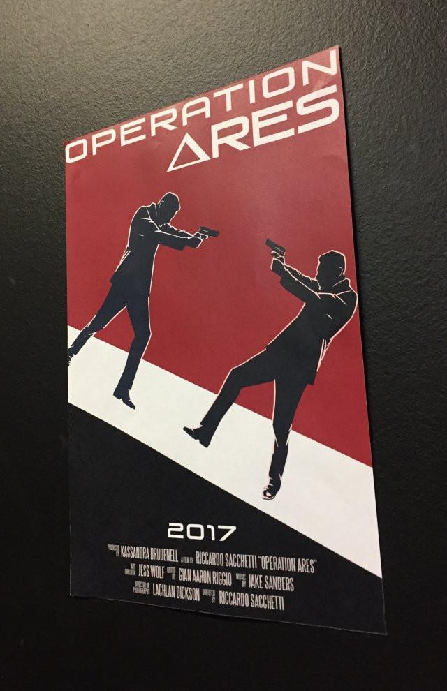 Operation Ares Film Poster Adam La Rosa Actor
