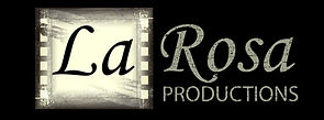 La Rosa Productions black logo