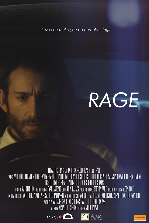 Rage Thriller Film Poster