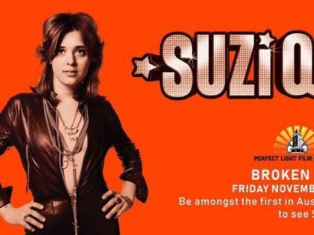 SUZI Q Screening At The Perfect Light Film Festival in Broken Hill, NSW.