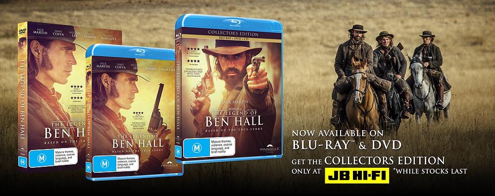 The Legend Of Ben Hall BluRay DVD JB Hifi