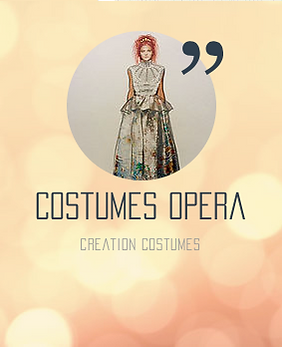 création costumes opéra