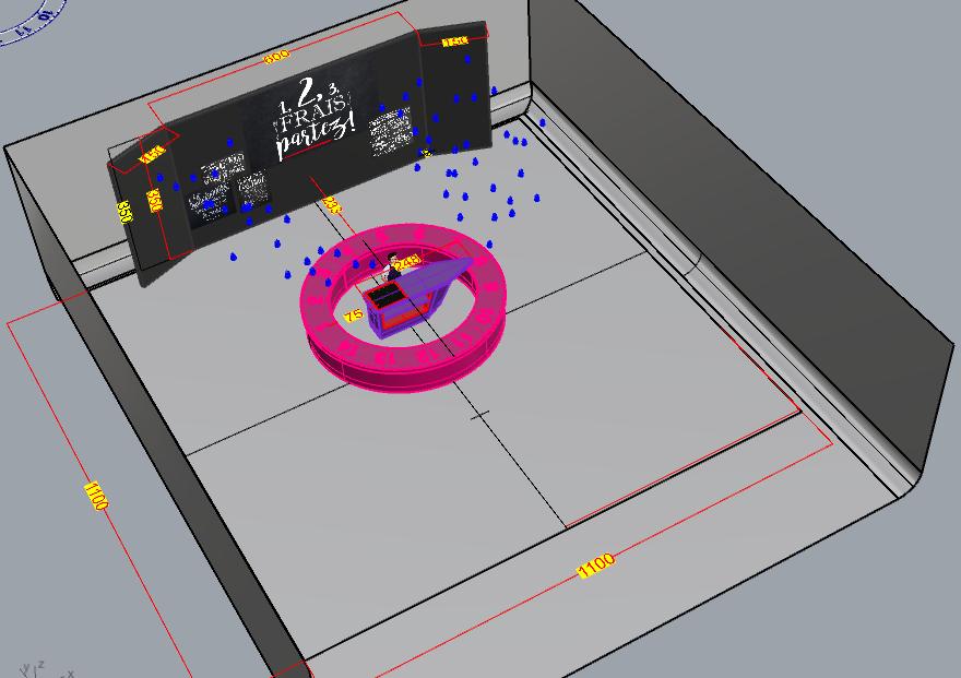 model  Rhino 3D