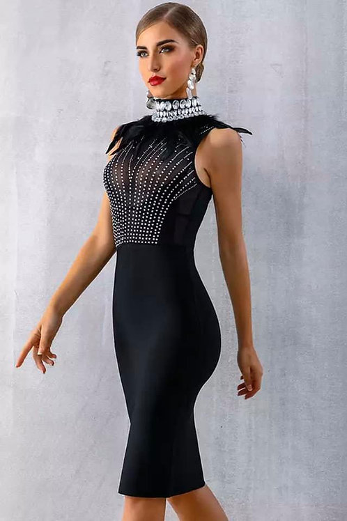 Black Diamond Party Dress