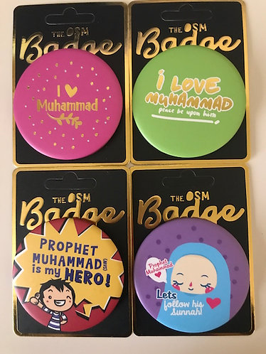 OSM Buttons - I Love Muhammad (s.a.w)