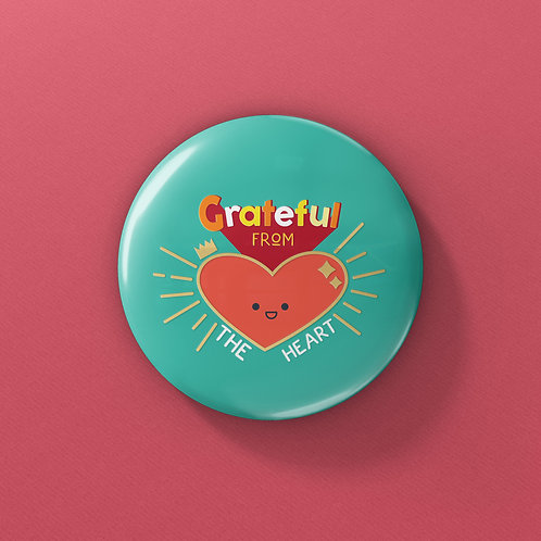 OSM Buttons -Grateful from the heart