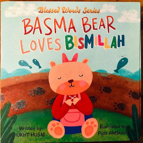Basma Bear Loves Bismillah -Board Book