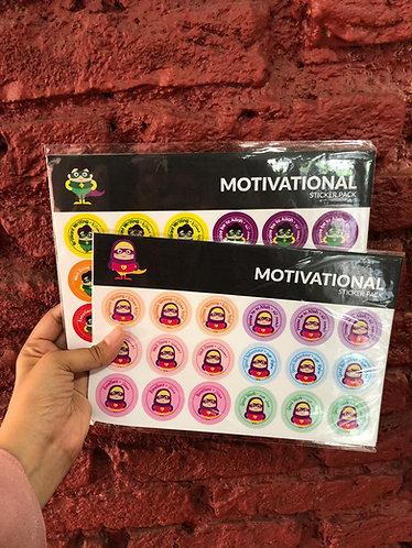 Motivational Stickers - Mifsha Kids