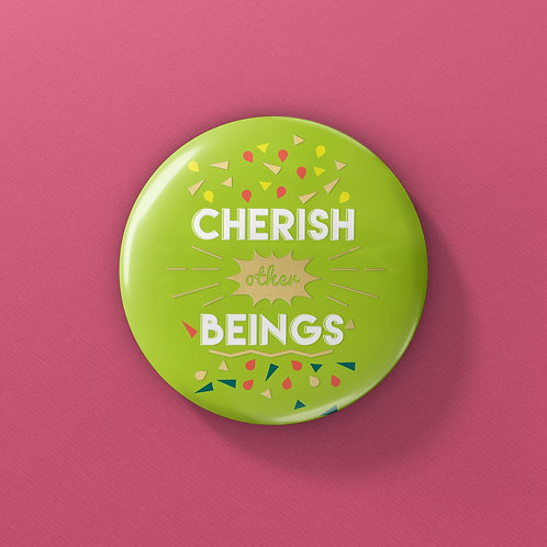 OSM Buttons - Cherish Other Beings