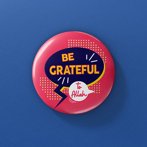 OSM Buttons - Be Grateful