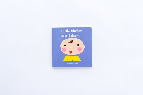 Little Muslim says Salaam board book