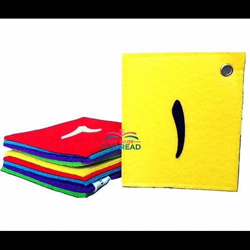 Felt Cards - Arabic Numbers (1 - 10)