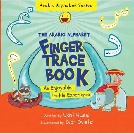 The Arabic Alphabet Finger Trace Board Book