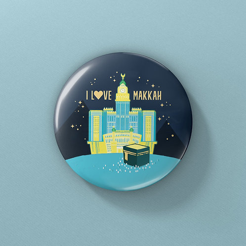 OSM Buttons - I Love Makkah/Madinah Series