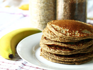 Fluffy Whole-Grain Pancakes