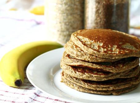 Fluffy Whole-Grain Pancakes