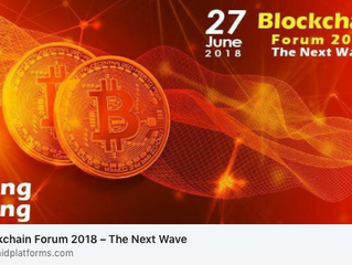 Presentation at Blockchain Forum 2018