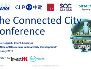 The Connected City Conference by KPMG, Jan. 30th 2018