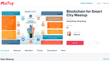 "Meet-up Group ""Blockchain for Smart City"" founded"