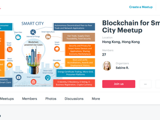 """Meet-up Group """"Blockchain for Smart City"""" founded"""