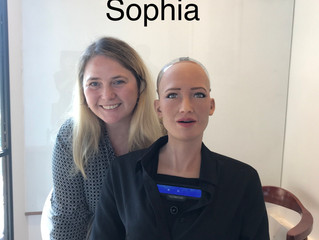 My my friend Sophia the Robot and her Team from Hanson Robotics
