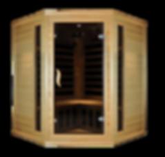 Blackstone Saunas | Corner Two