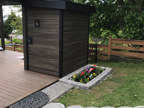 COASTAL OUTDOOR SAUNA | NORTH VANCOUVER