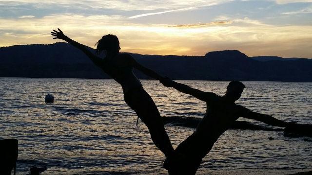 Sunset Yoga Playdate