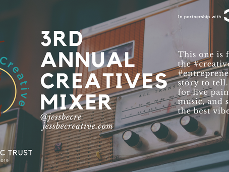 JessBe Creative's Third Annual Creatives Mixer