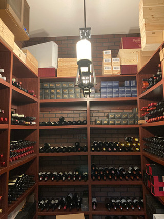 MB's Temperature Controlled High-End Wine Room