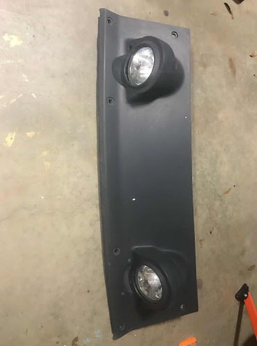 "2005+ Xterra ""Roof Boobs"" with lights"