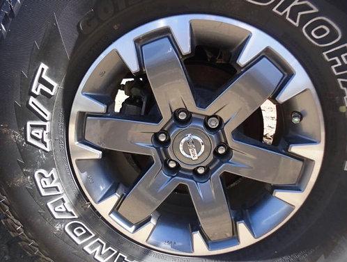 "Nissan Xterra, Frontier, Pathfinder ""Pro4X"" Rims"