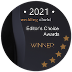 2021 Wedding Diaries Award Badge - small