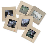 Photo slides transfered to CD