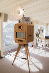 Hire wedding photo booth