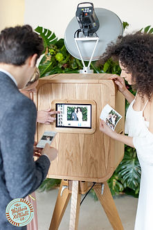 Wedding corporate party video photo booth