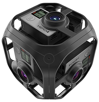 GoPro Omni 360 camera hire, London and UK hire