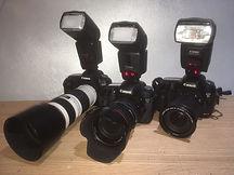 Hire Paparazzi cameras