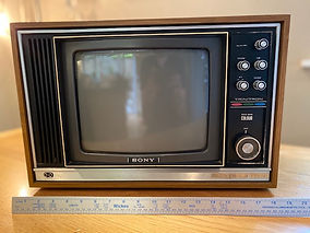 Hire Vintage Colour TV