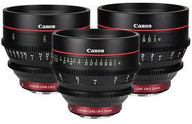Hire Canon Cine Lenses