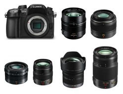 Lumix Lens GH4 hire