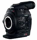 Hire Canon C300 from London Camera hire company