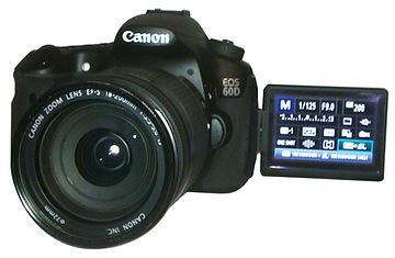 Hire Canon 60D