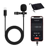 Hire iPhone microphones - lapel mics for iphone hire